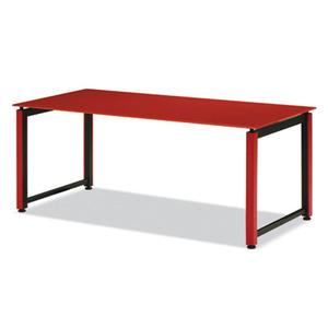 K1 회의용테이블(직사각)-레드 / K1T
