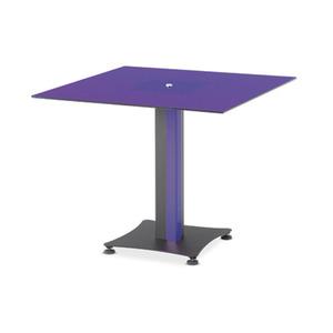 KST 회의용테이블(정사각형)-바이올렛 KST-V