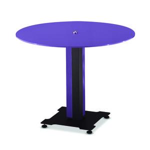 메탈릭 바이올렛 원형 탁자 / KER1000BV1